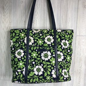 Vera Bradley Tote Lucky You Trimmed Traveler Bag